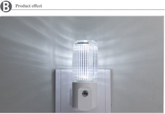 China Energy Efficient Basic Night Light Inflaming Retarding With Manual Switch supplier